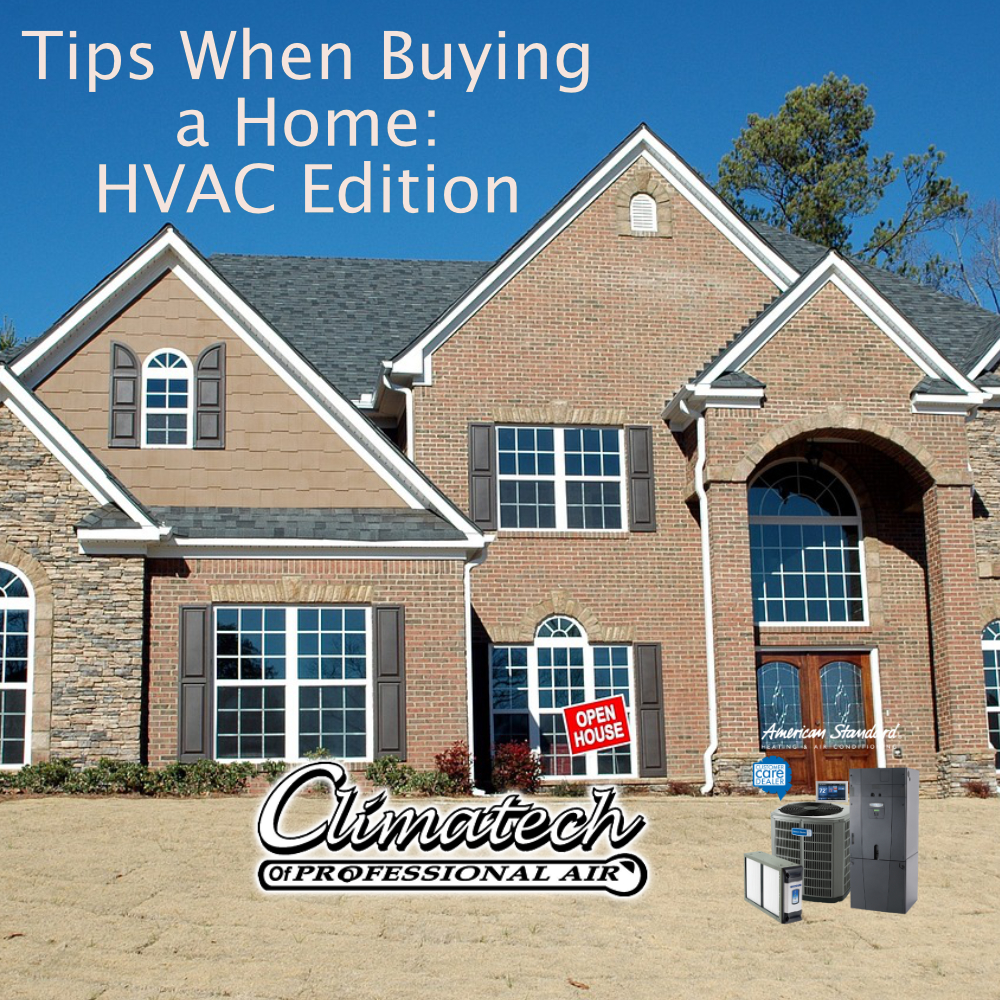 Tips When Buying a Home: HVAC Edition