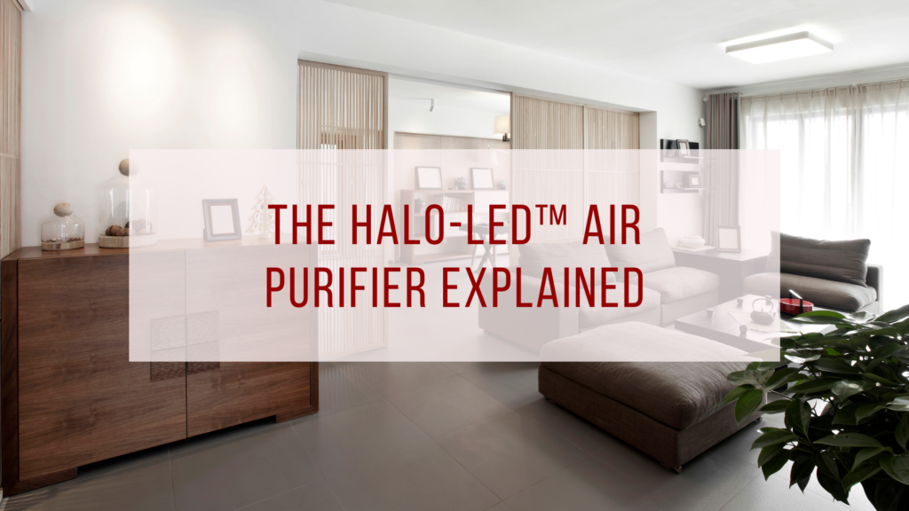 HALO-LED™ Air Purifier