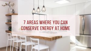 conserve energy at home