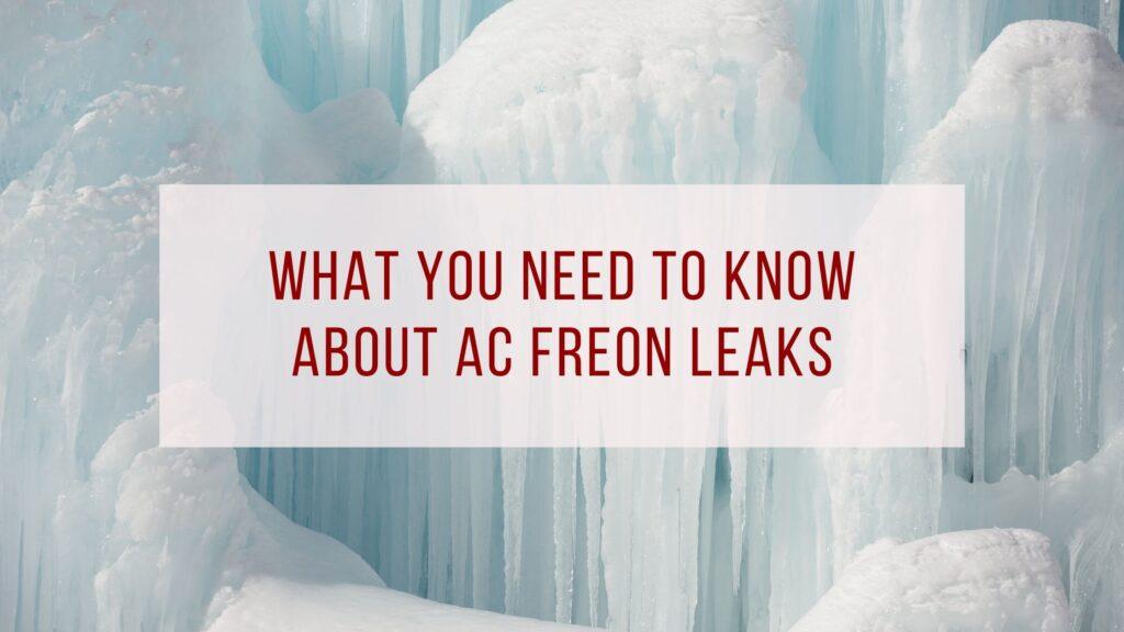 AC Freon Leaks